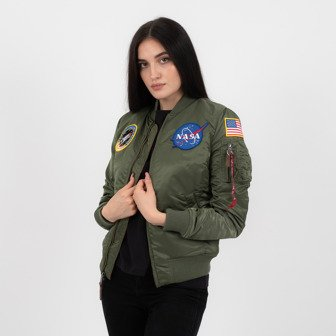 Жіноча куртка Alpha Industries Ma 1 Vf Nasa 168007 01
