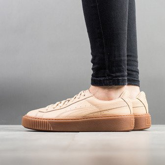 Жіночі кросівки Puma Platform Veg Tan Naturel 364457 01