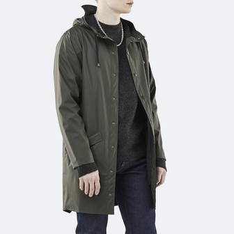 Куртка Rains Long Jacket 1202 GREEN
