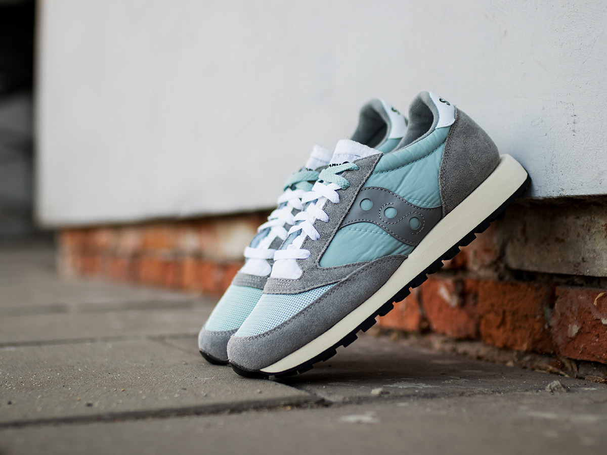Jazz Original Trainers In Grey S70368-5 - Grey Saucony 3YxM78