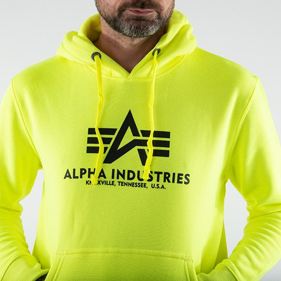Мужская кофта Alpha Industries Basic Hoody 178312 469