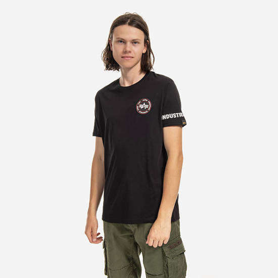 Мужская футболка Alpha Industries RBF Back Stripe T-shirt 128534 03