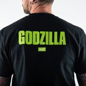 Мужская футболка HUF x Godzilla Bar Logo T-Shirt TS01369 BLACK