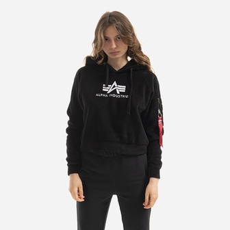 Жіноча кофта Alpha Industries Polar Fleece Hoody Wmn 128055 03