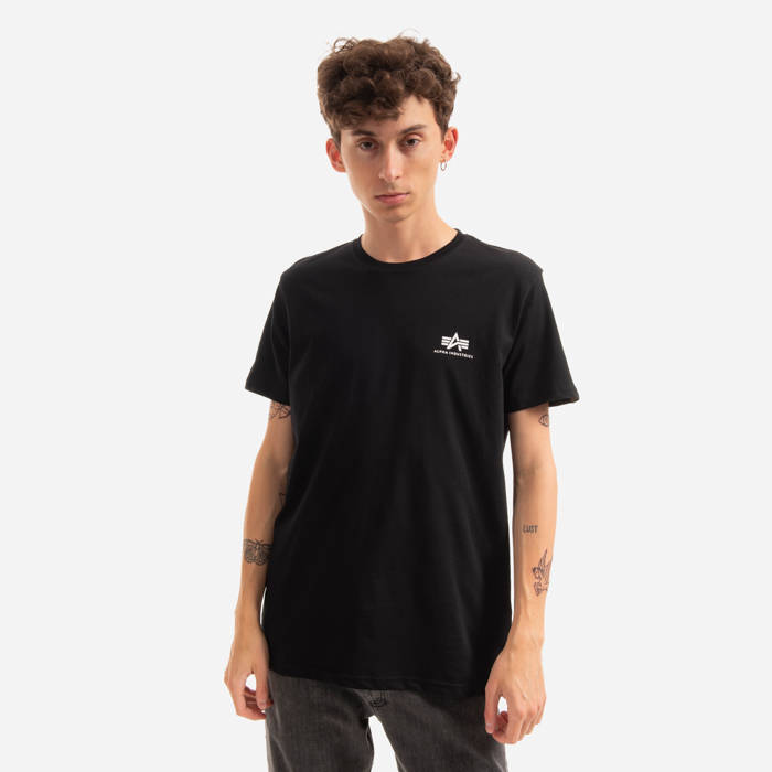 Чоловіча футболка Alpha Industries Basic Small Logo 188505 03 ... 579346ab34547