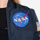 Жіноча куртка Alpha Industries MA-1 TT Nasa Reviersible 186022 07